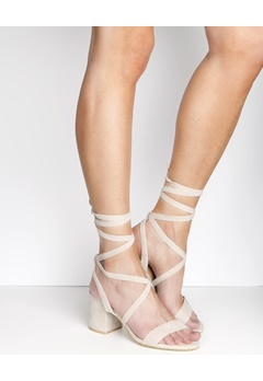 Have2have Lace Up Sandaler, Lydia1 Beige Bubbleroom.se