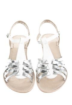 Have2have Sandaler, Athena2 Vit och silver Bubbleroom.se