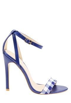 Have2have Gingham sandaletter, Starling5 Blå, vit Bubbleroom.se