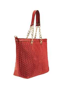 Have2have Shopper väska, Valerie Röd Bubbleroom.se