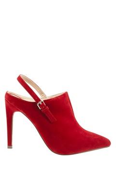 Have2have Slipin skor med höga klackar, Nova2 Röd Bubbleroom.se