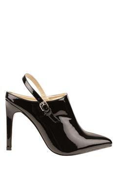 Have2have Slipin skor med höga klackar, Nova2 Svart lack Bubbleroom.se