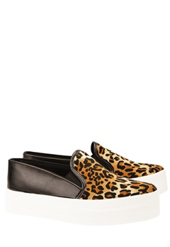 Have2have Slipon sneakers, Snow Leopard, svart Bubbleroom.se