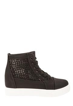 Have2have Sneakers med kilklack, Polina Svart Bubbleroom.se