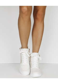 Have2have Sneakers med kilklack, Terese Vit Bubbleroom.se