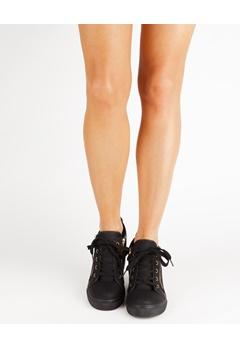 Have2have Sneakers med kilklack, Whoopy Svart Bubbleroom.se