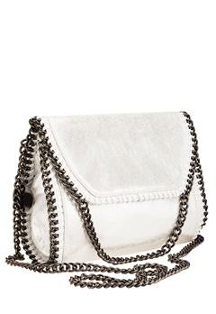 Have2have Väska med axelkedja, Iria Vit, silver Bubbleroom.se