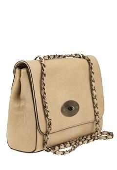 Have2have Väska med axelremskedja, Bruxelle Beige Bubbleroom.se