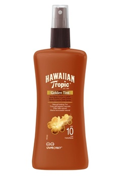 Hawaiian Tropic Hawaiian Tropic Golden Tint Spray Lotion Sf10  Bubbleroom.se