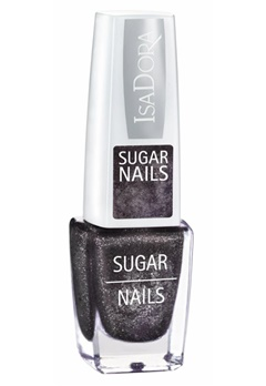 IsaDora Isadora Sugar Nails - 118 Black Crush  Bubbleroom.se