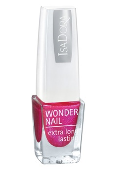 IsaDora Isadora Wonder Nail Wide Brush - 119 Smashy Cerise  Bubbleroom.se