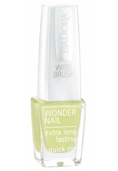 IsaDora Isadora Wonder Nail Wide Brush - 505 Sunny Lime  Bubbleroom.se