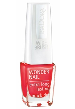 IsaDora Isadora Wonder Nail Wide Brush - 511 Happy In Red  Bubbleroom.se