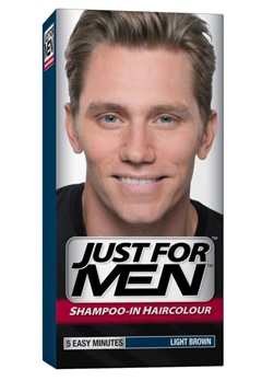 Just For Men Just For Men - Light Brown (Hair)  Bubbleroom.se