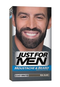 Just For Men Just For Men - Real Black (Beard)  Bubbleroom.se