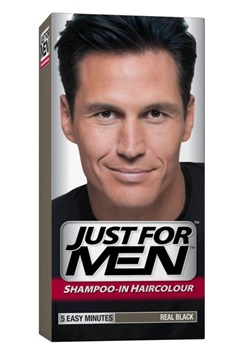 Just For Men Just For Men - Real Black (Hair)  Bubbleroom.se