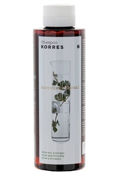 KORRES KORRES Shampoo Aloe And Dittany Normal Hair (40ml)  Bubbleroom.se