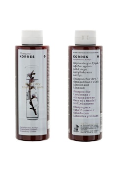 KORRES KORRES Shampoo Almond And Lineseed (250ml)  Bubbleroom.se