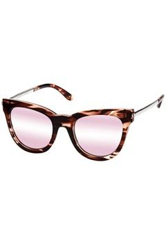 Le Specs Le Specs Le Debutante Rose Haze Peach Mirror Lens  Bubbleroom.se