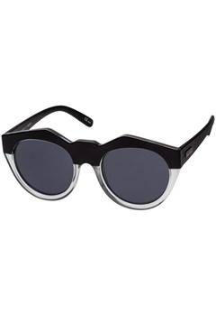 Le Specs Le Specs Neo Noir Matte Black Clear Smoke Mono Lens  Bubbleroom.se