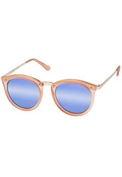 Le Specs Le Specs No Smirking Matte Apricot Purple Revo Mirror Lens  Bubbleroom.se