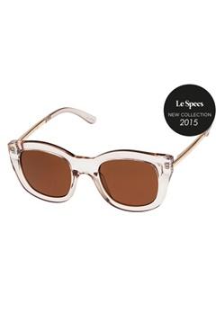 Le Specs Le Specs Runaways Luxe Sand Brown Mono Lens  Bubbleroom.se
