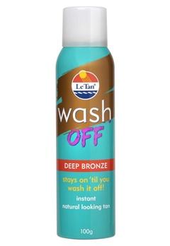 Le Tan Le Tan Wash Off Deep Bronze 100G Aerosol (100g)  Bubbleroom.se