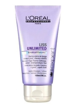 LOreal Professionnel Loreal Liss Unlimted Leave-In Creme (150ml)  Bubbleroom.se