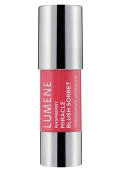 Lumene Lumene Rarpberry Miracle Blush Sorbet - 3 Full of Flowers  Bubbleroom.se