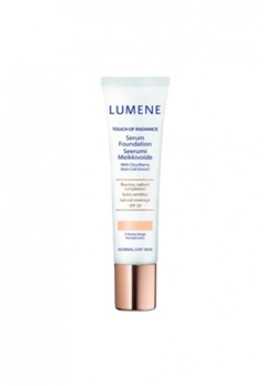 Lumene Lumene Touch Of Radiance Serum Foundation - 2 Honey Beige  Bubbleroom.se