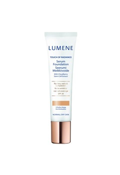 Lumene Lumene Touch Of Radiance Serum Foundation - 3Perfect Beige  Bubbleroom.se