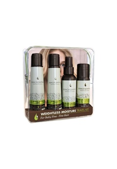 Macadamia Natural Oil Macadamia Nourishing Moisture Travel Kit  Bubbleroom.se