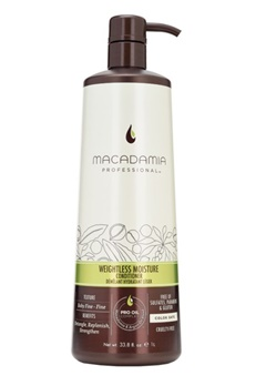 Macadamia Natural Oil Macadamia Wash And Care Weightless Moisture Conditioner (1000ml)  Bubbleroom.se