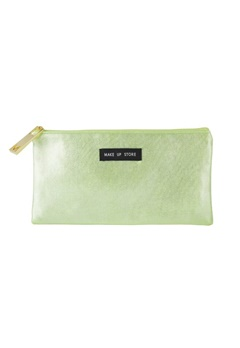 Make Up Store Make Up Store Bag - Flat Green  Bubbleroom.se