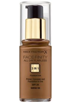 Max Factor Max Factor All Day Flawless Foundation 100 Sun Tan  Bubbleroom.se