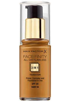 Max Factor Max Factor All Day Flawless Foundation 95 Tawny  Bubbleroom.se
