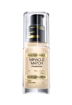 Max Factor Max Factor Miracle Match Foundation 80 Bronze  Bubbleroom.se