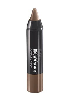 Maybelline Maybelline Brow Drama Pomade Crayon  - Medium Brown  Bubbleroom.se