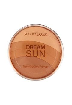 Maybelline Maybelline Dream Sun Triple Bronzing Powder  - Brunette  Bubbleroom.se