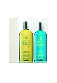 Molton Brown Molton Brown Bushukan & Templetree Bath & Body Set (300Mlx2)  Bubbleroom.se