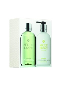 Molton Brown Molton Brown Grapeseed Bath & Body Set (300Mlx2)  Bubbleroom.se