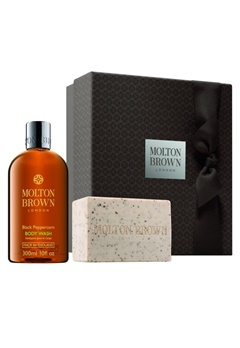 Molton Brown Molton Brown Re-Charge Black Peppercorn Essentials Gift Set  Bubbleroom.se