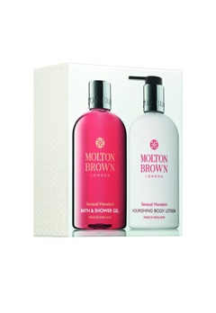 Molton Brown Molton Brown Sensual Hanaleni Bath & Body Set (300Mlx2)  Bubbleroom.se