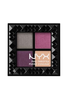 NYX NYX Full Throttle Eye Shadow Palette - Bossy  Bubbleroom.se