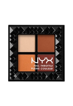 NYX NYX Full Throttle Eye Shadow Palette - Color Riot  Bubbleroom.se