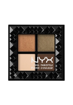 NYX NYX Full Throttle Eye Shadow Palette - Easy On The Eyes  Bubbleroom.se