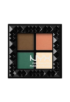 NYX NYX Full Throttle Eye Shadow Palette - Explicit  Bubbleroom.se