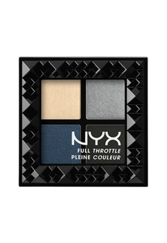 NYX NYX Full Throttle Eye Shadow Palette - Haywire  Bubbleroom.se