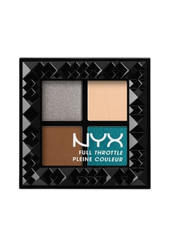 NYX NYX Full Throttle Eye Shadow Palette - Stunner  Bubbleroom.se