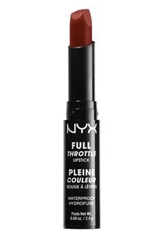 NYX NYX Full Throttle Lipstick - Con Artist  Bubbleroom.se